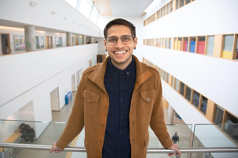 York University Student Prince Barpaga