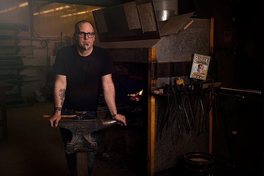 York University Foundry/Metal Studio Technician, Roch Smith