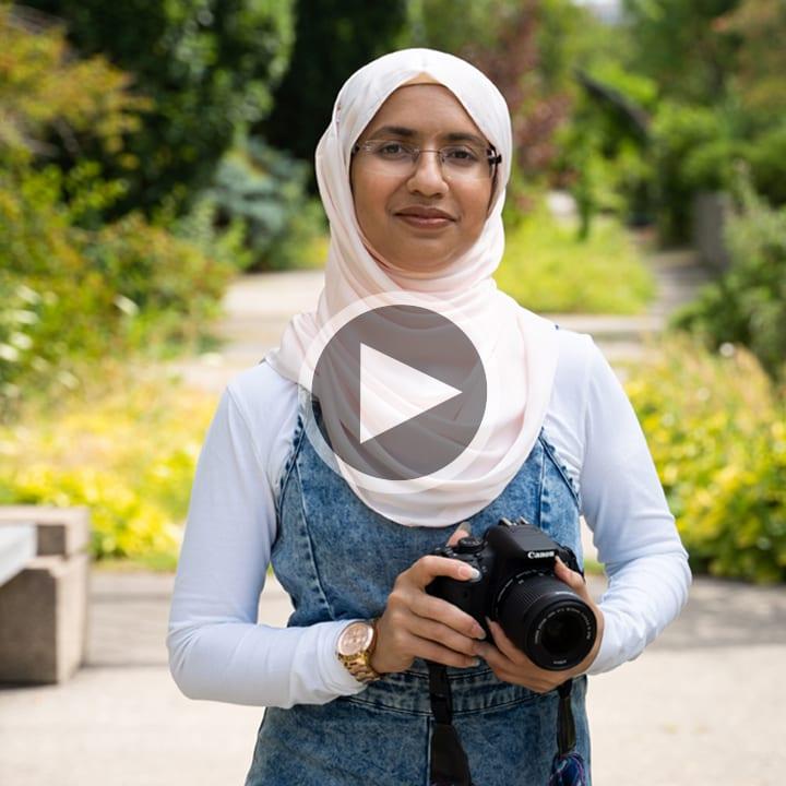 Summayya Tariq, Student